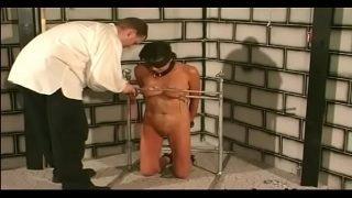 Coarse dilettante bondage porn